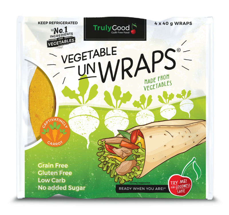 TrulyGood Carrot and Vegetable Wraps