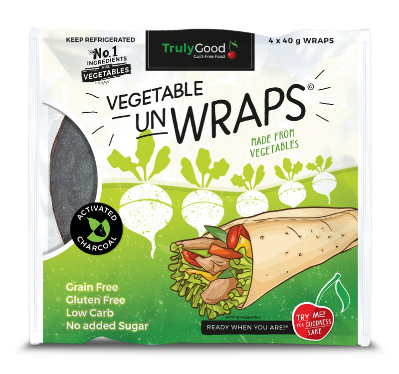 TrulyGood Activated Charcoal Wraps