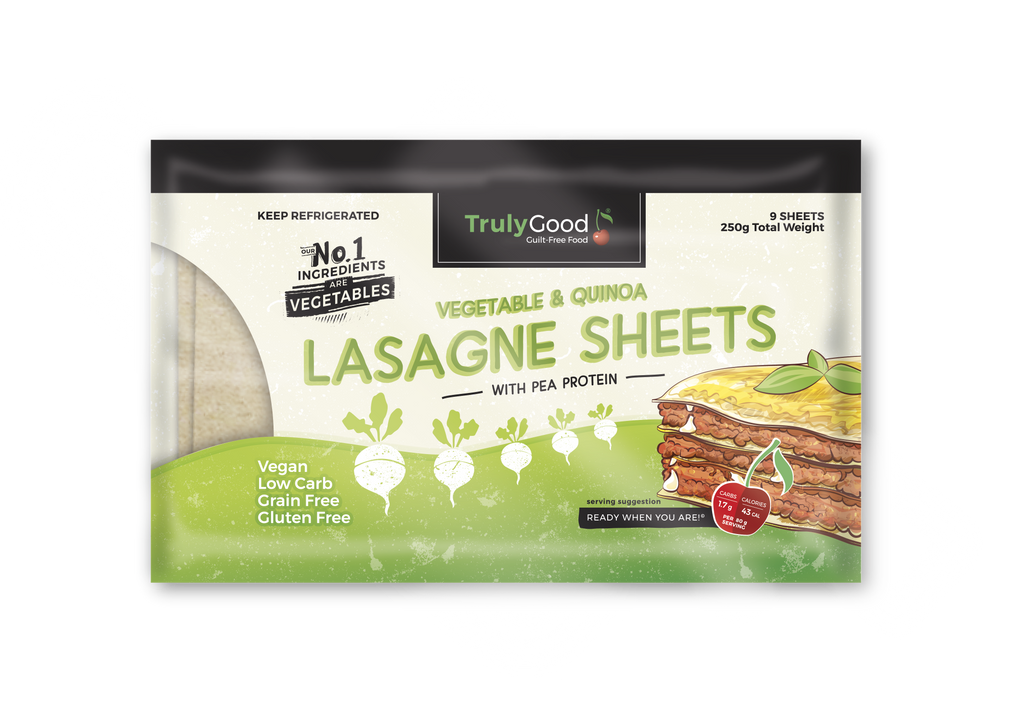 Vegetable & Quinoa Lasagne Sheets: 9 sheets