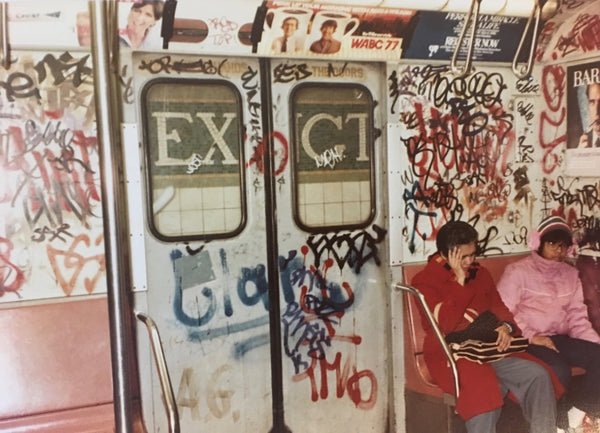 NYC, Subway, 1970's