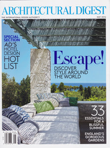 Architectural Digest May 2016