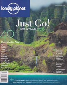 Lonely Planet Winter 2016