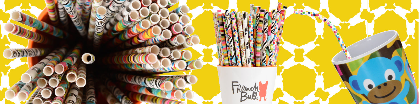 French Bull Paper Straws