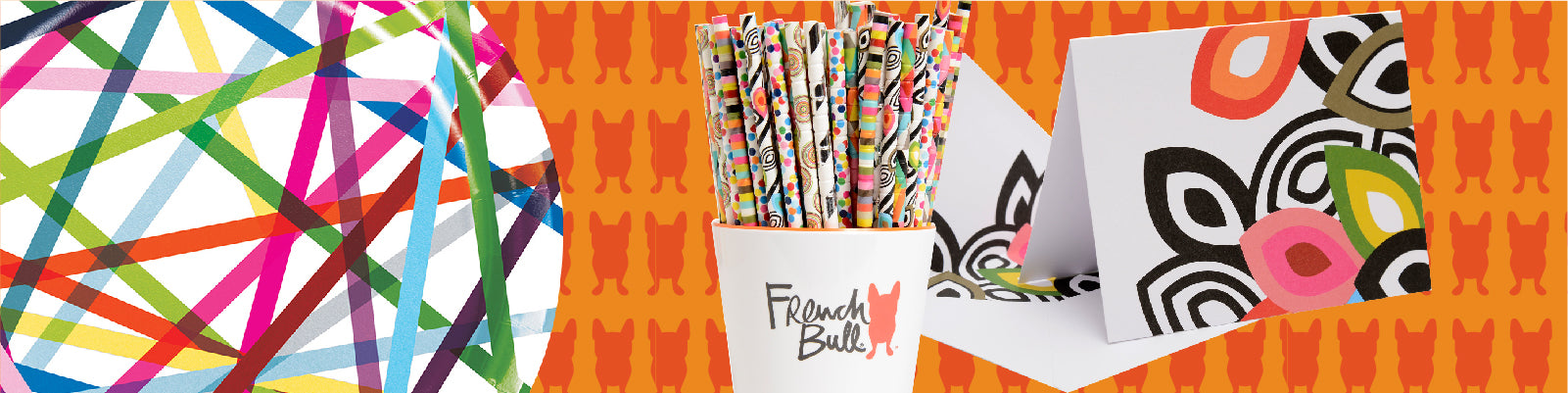 French Bull Paper Partyware