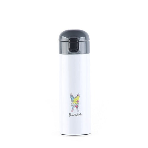 Frenchie One Touch Flask