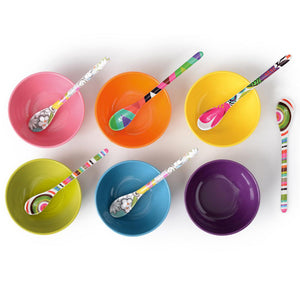 Assorted Dessert Spoon Set