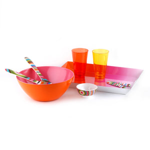 Ring Salad Server Set