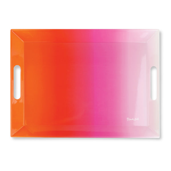 Pink Ombré Serving Tray
