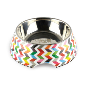 Ziggy White Small Pet Bowl