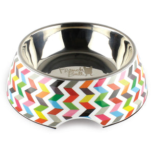 Ziggy White Medium Pet Bowl