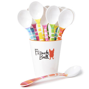 Scoop Spoon Assortment with Vessel - 15 Units, , Vessel, French Bull