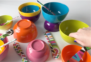 Rainbow Small Bowl Set