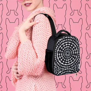 Beady Pattern Sling Lunch Bag