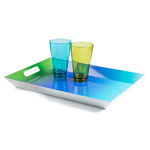 Blue Ombré Serving Tray