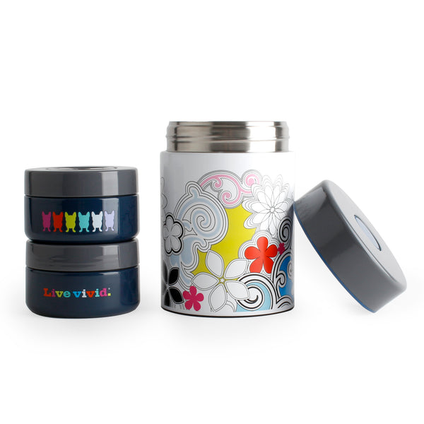 3pc Food Jar Set