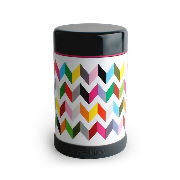 Ziggy White Food Jar