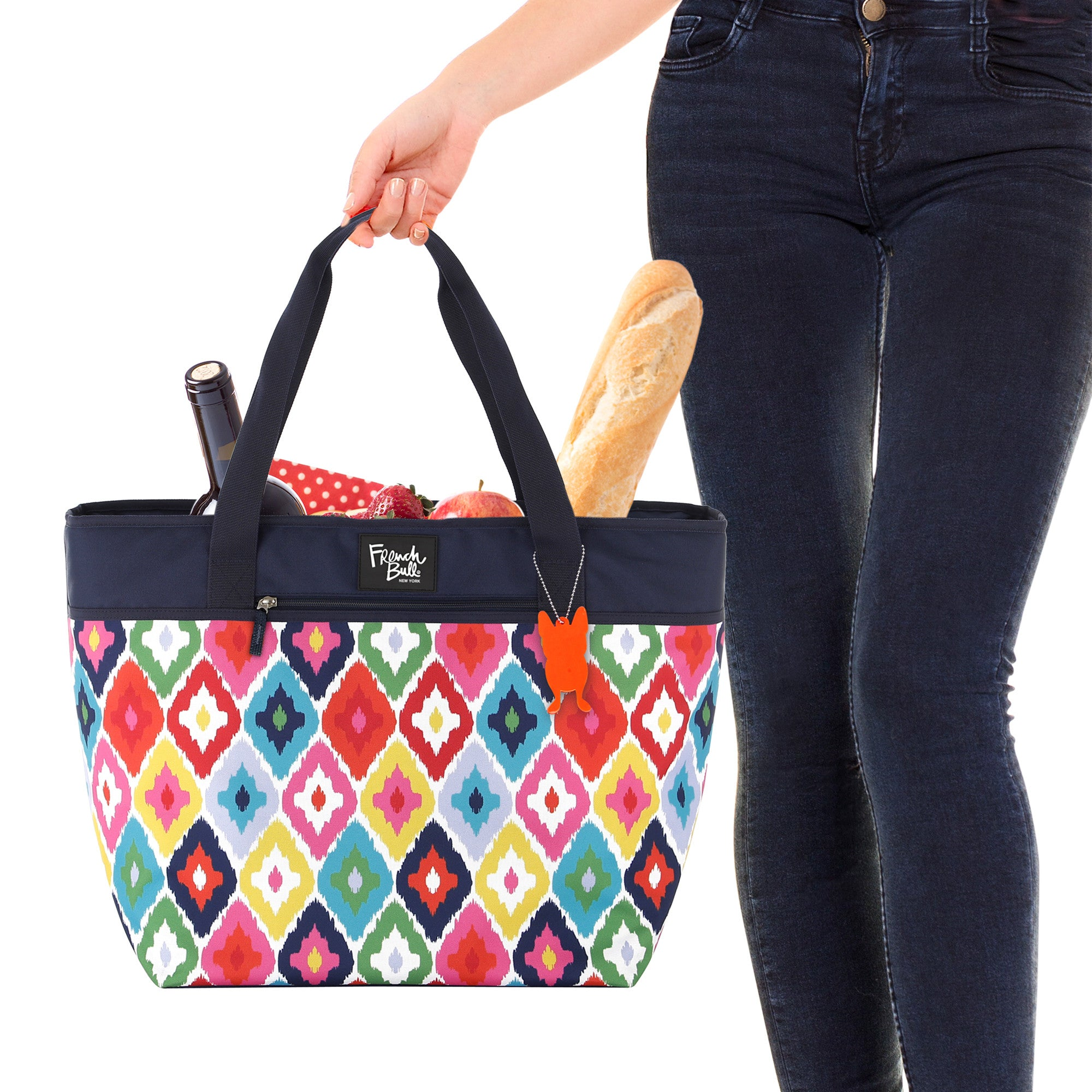 806c7f2f3e Kat Insulated Picnic Tote Bag - French Bull