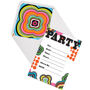 Birthday Invitations - Mod Birthday Birthday Invitations