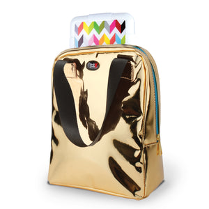 Gold Chill Lunch Bag