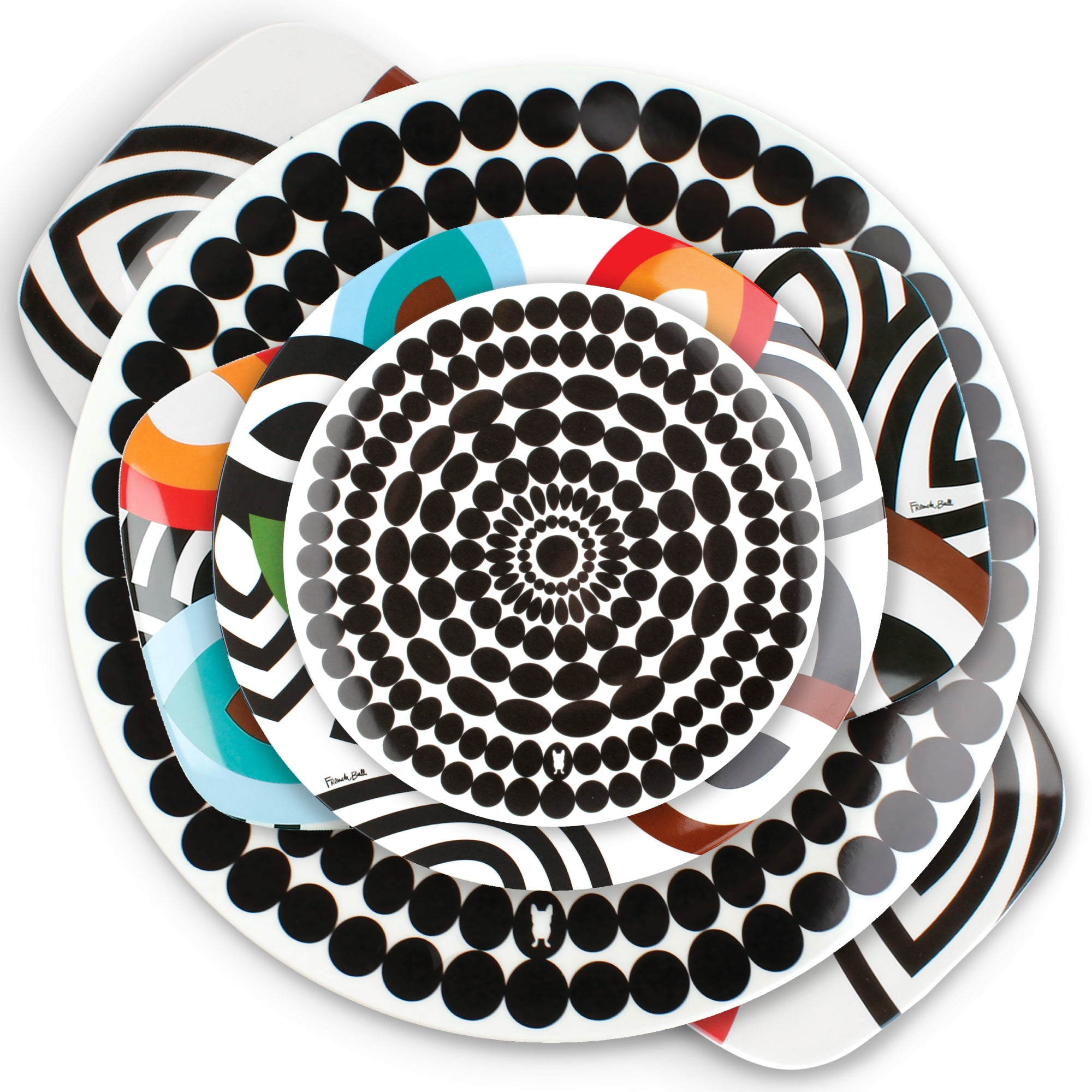 Foli Plate and Platter Collection  sc 1 st  French Bull & Melamine Plates - French Bull