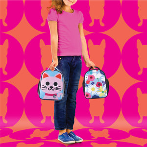 Kitty Kids Sling Lunch Bag