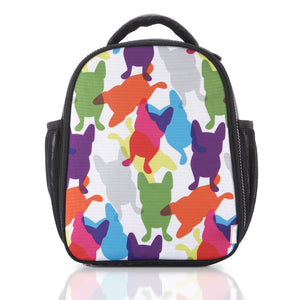 CMYK Happy Frenchie Sling Lunch Bag