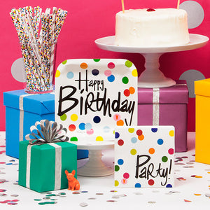 Invitations - Birthday Dots Invitations