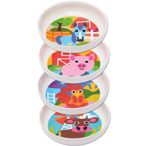 Kids Bowl Set - Farm Kids Bowl Set