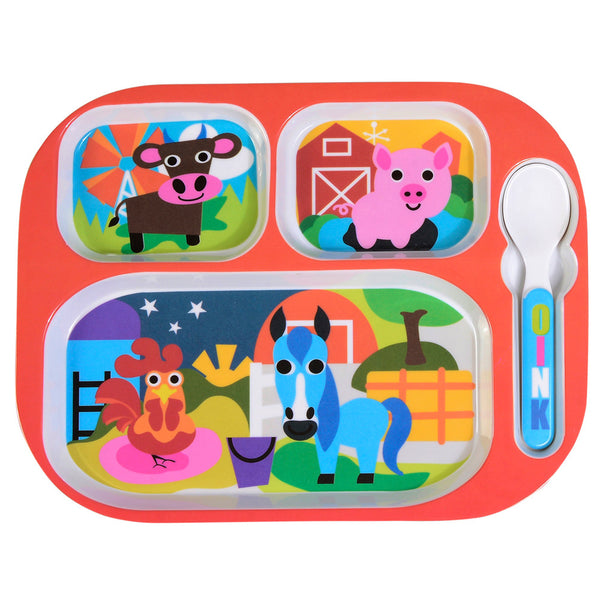 Kids Everyday Tray - Farm Everyday Tray
