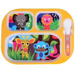 Kids Everyday Tray - Jungle Everyday Tray