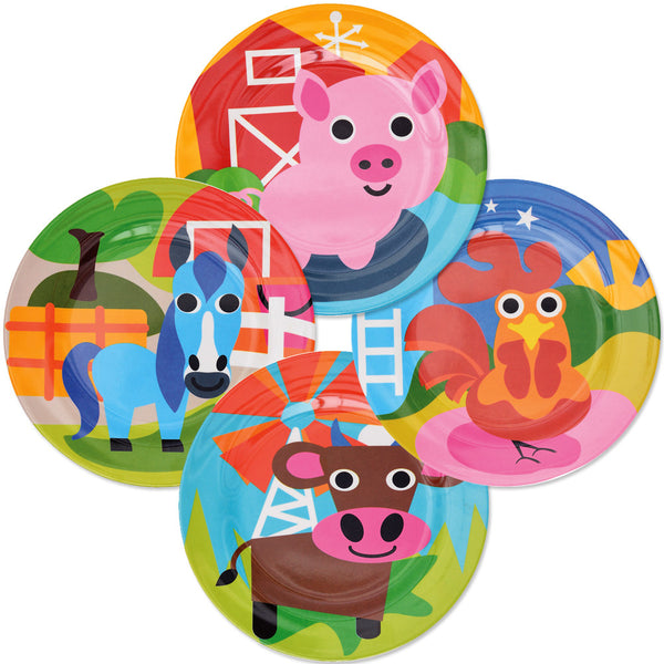 Kids Plate Set - Farm Kids Plate Set