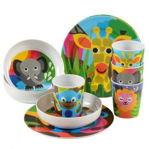 Kids Plate Set - Jungle Kids Plate Set