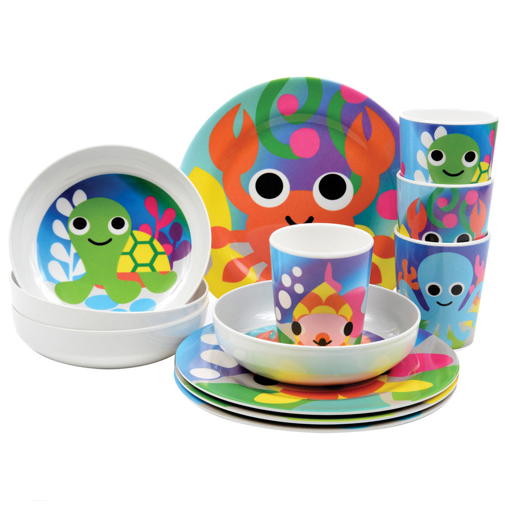Kids Plate Set - Ocean Kids Plate Set ...  sc 1 st  French Bull & Ocean Kids Plate Set - French Bull