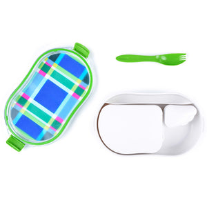 Lunch Box - Multiplaid Pack & Snack