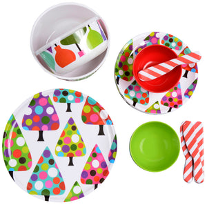Melamine Storage Container - Ornaments 2 Piece Storage Container Set