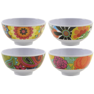 Mini Bowl Set - Floral Mini Bowl Set - 4 Assorted