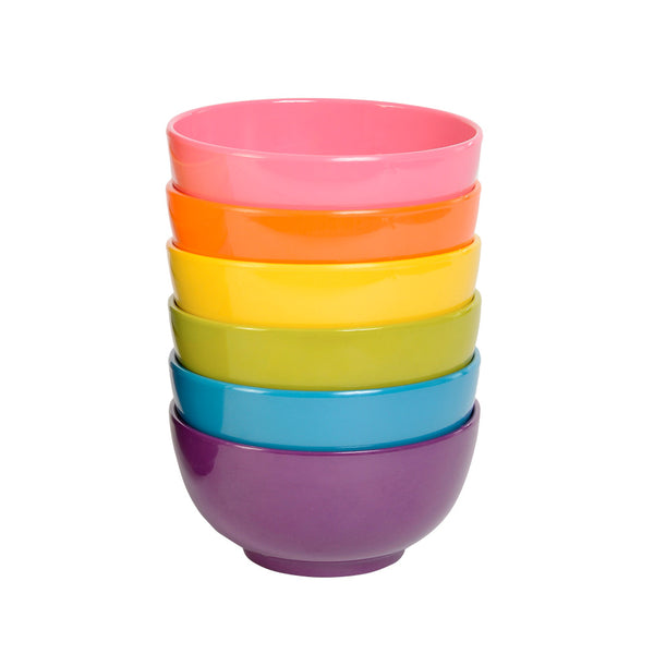 Mini Bowl Set - Solid Mini Bowl Set - 6 Assorted