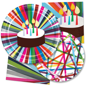 Paper Treat Bag - Birthday Paper Treat Bag
