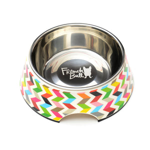 Pet Bowl - Ziggy White Pet Bowl Small
