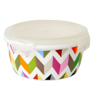 Porecelain Storage - Ziggy Large Round Porcelain Storage