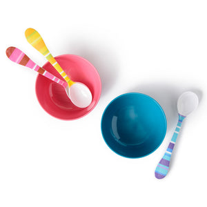 Scoop Spoon - Beach Stripe Scoop Spoon Assorted Set Of 3