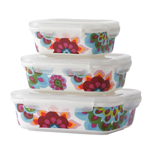 Storage Container Set - Gala Porcelain Storage Set