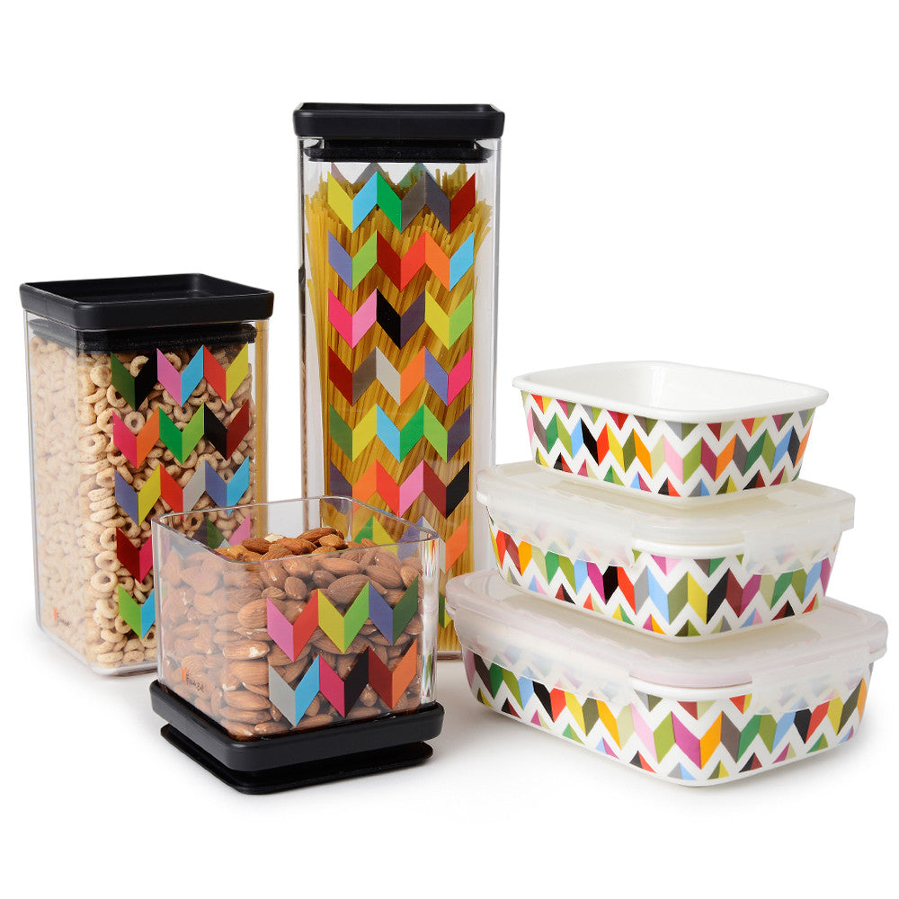 Ziggy Porcelain Food Storage Container Set French Bull