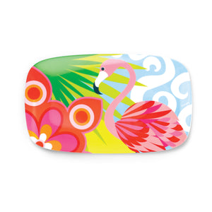 "Tropic Fantasia 13"" Rectangular Platter"