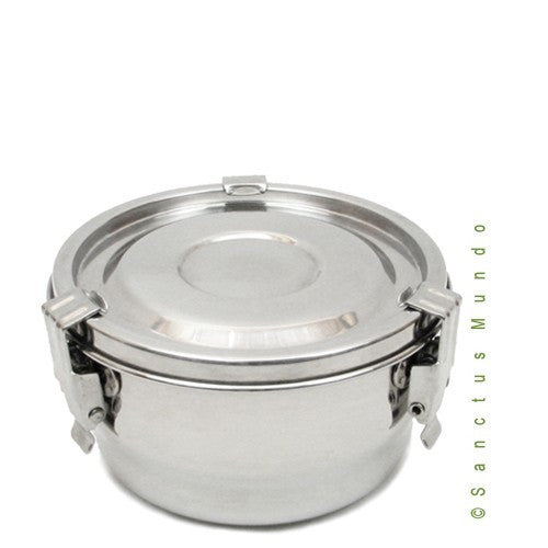 Stainless Steel Airtight Food Container 14cm