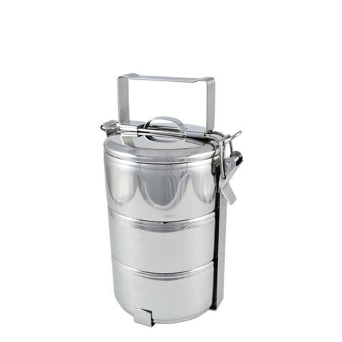 3 Tier Stainless Steel TIffin 14 cm