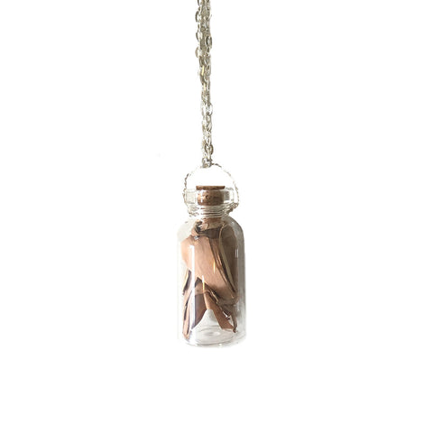 Apothecary Bottle Necklace, large