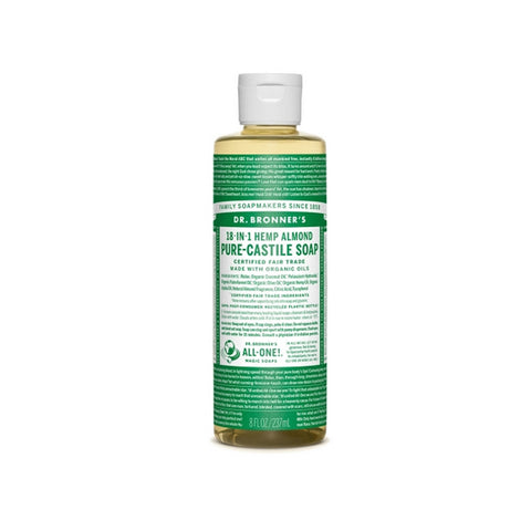 Almond Pure Castile Liquid Soap