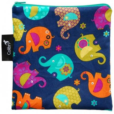 Snack Bag, Elephants, Large