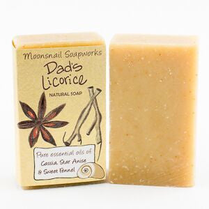 Dad's Licorice Natural Soap, 90g